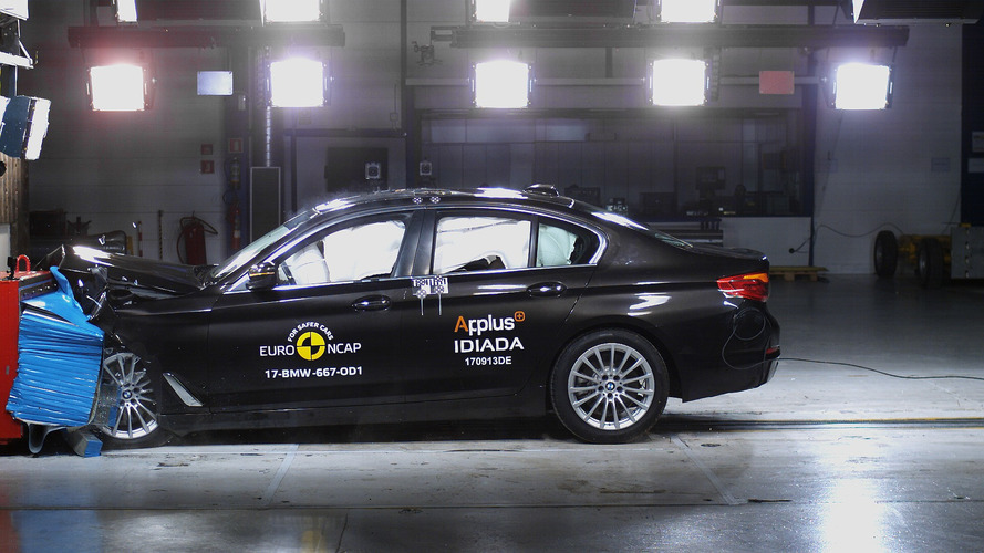 5 Stars For New BMW 5 Series In Euro NCAP Crash Test