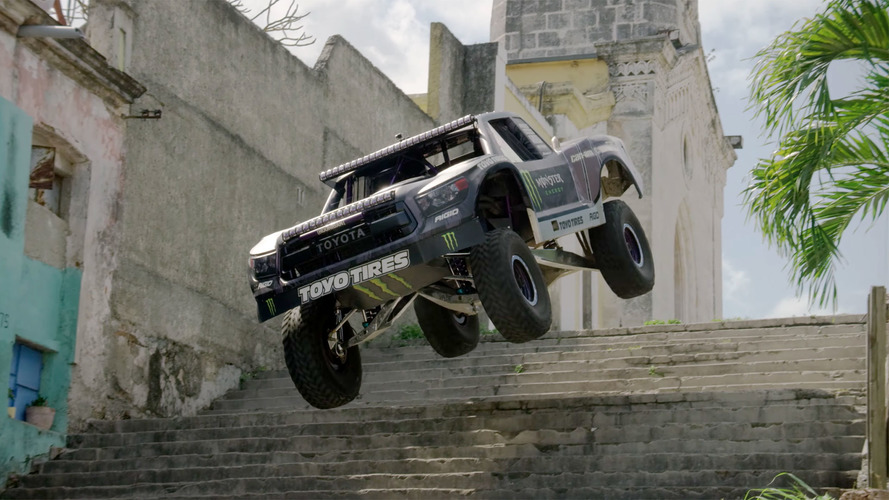 Watch BJ Baldwin's Trophy Truck Storm Through Havana