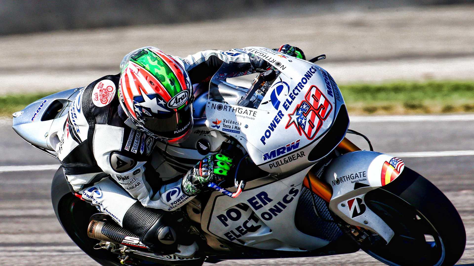 2015 Nicky Hayden Power Electronics Aspar Honda Motogp Insideevs Photos