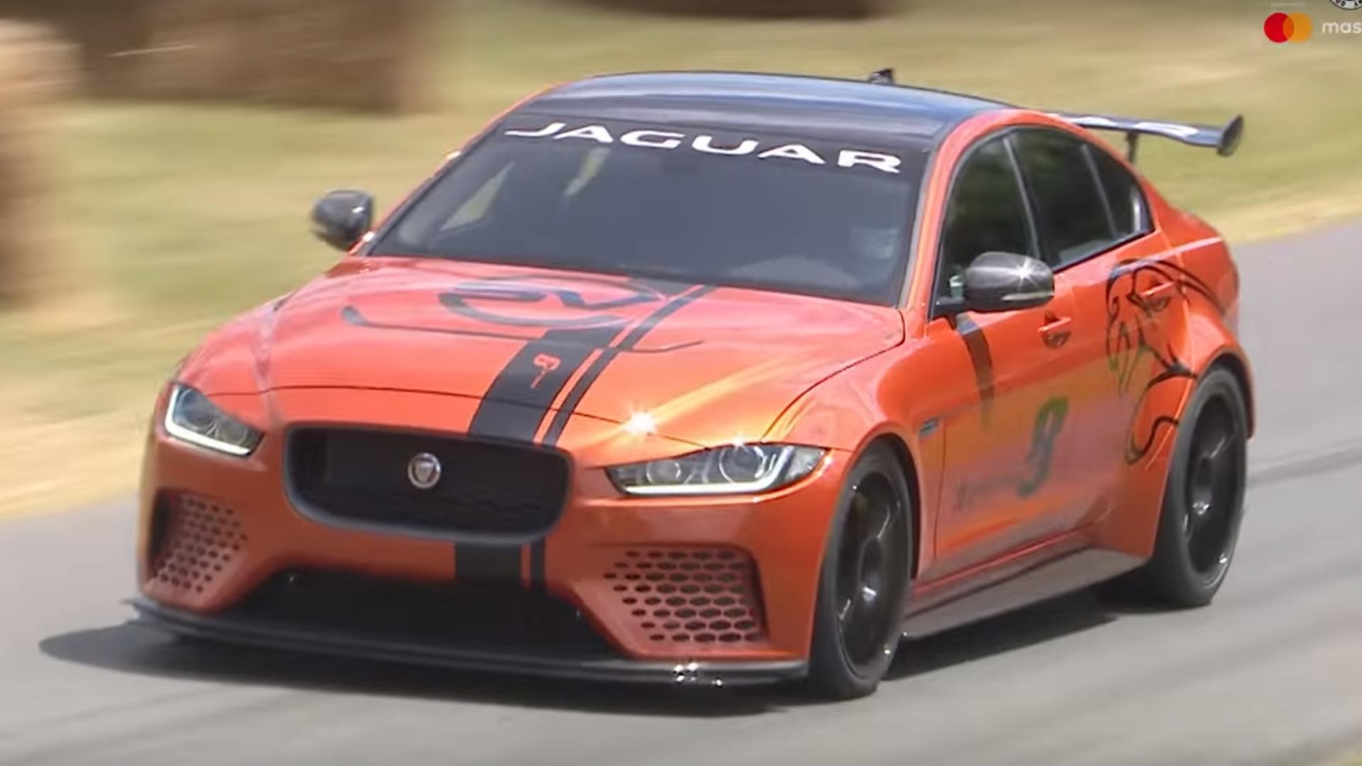 Jaguars Most Powerful Production Car Ever Attacks Goodwood - Goodwood hardware car show