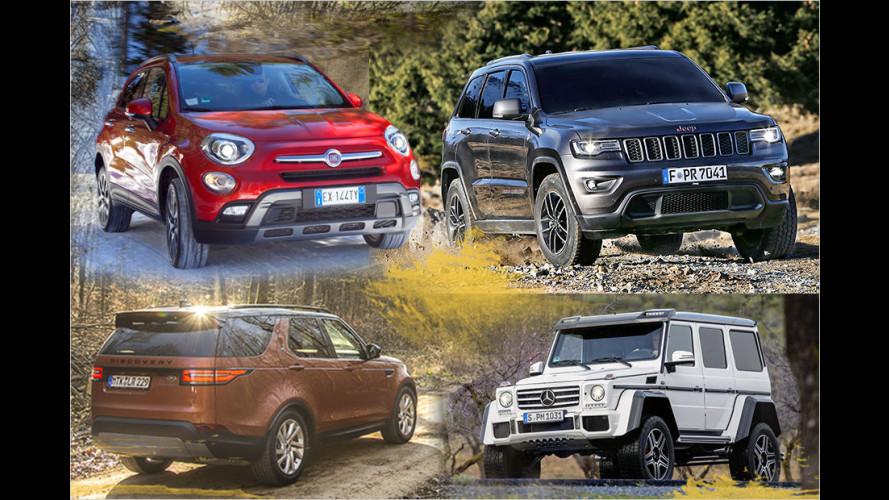 Die besten SUVs für richtiges Gelände