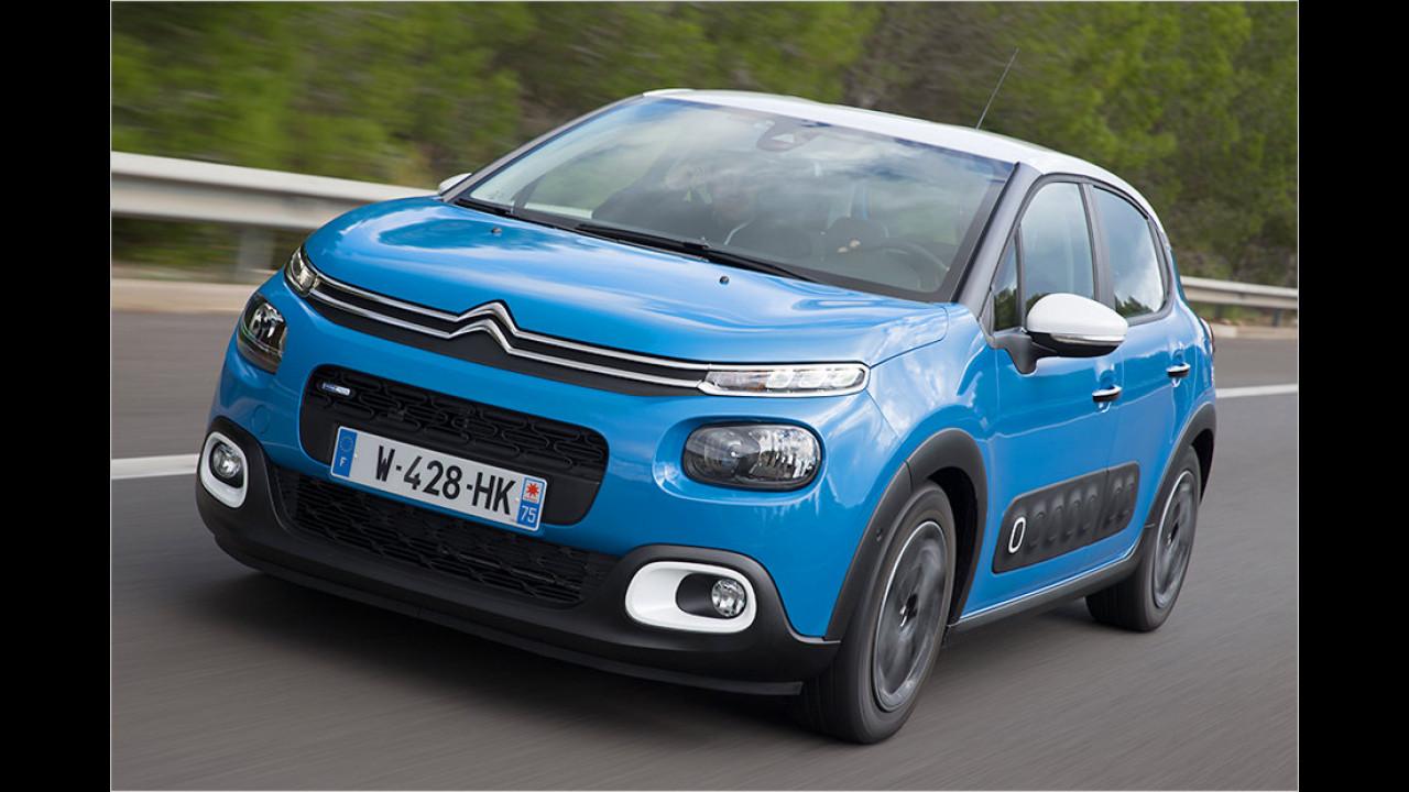 Kleinwagen: Citroën C3 als stärkster Gewinner