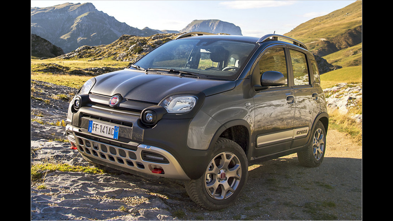 Fiat Panda 0.9 TwinAir Turbo 4x4 Cross