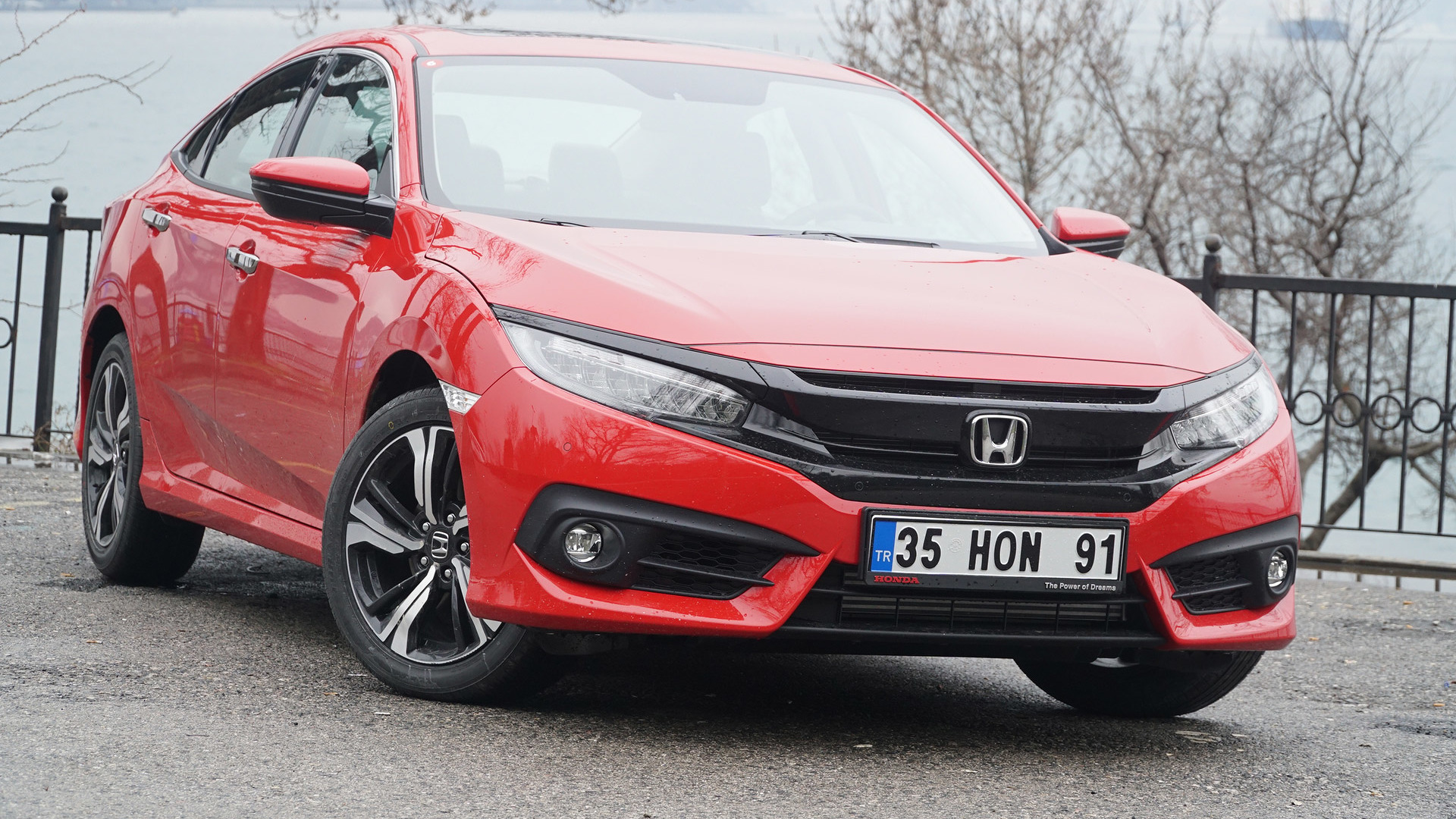 Ilk Sürüş 2017 Honda Civic Rs