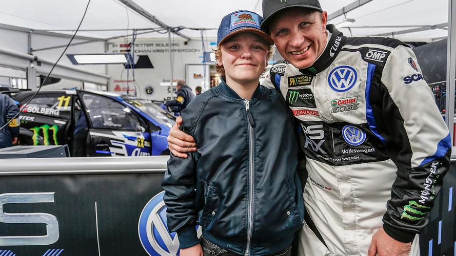 A 15 ans, le fils de Petter Solberg débute en Supercars