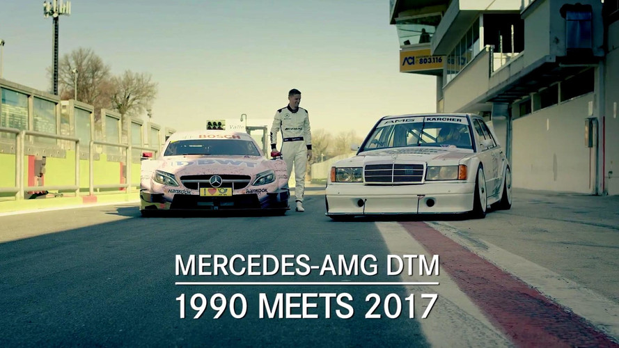 Mercedes-Benz 190E et C63 DTM Race