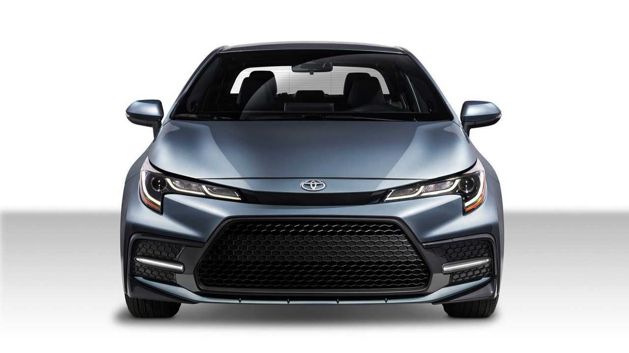 2020 Toyota Corolla Front