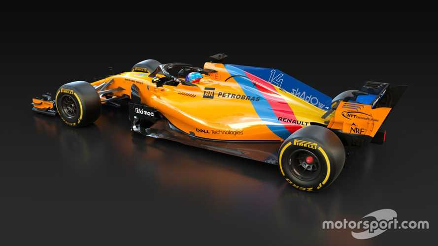 Fernando Alonso special McLaren MCL33 livery