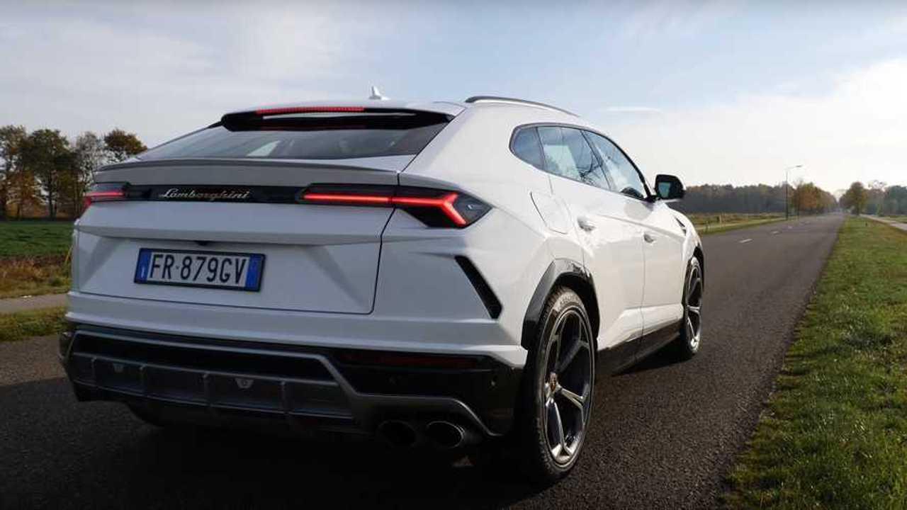 Lamborghini Urus 0-303 km/h