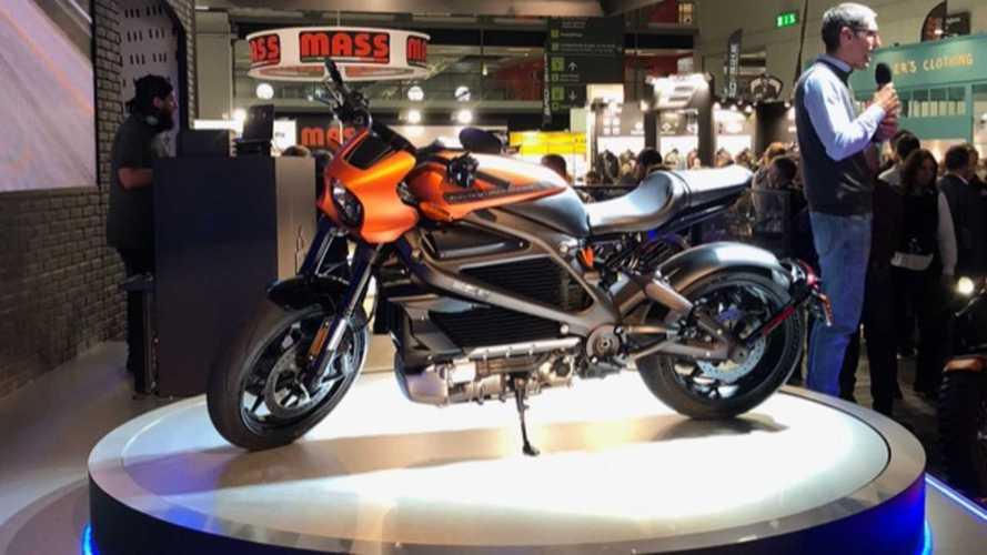Salão de Milão: Harley-Davidson mostra a Livewire de produção, sua primeira moto elétrica