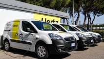 I furgoni elettrici PSA a Hertz