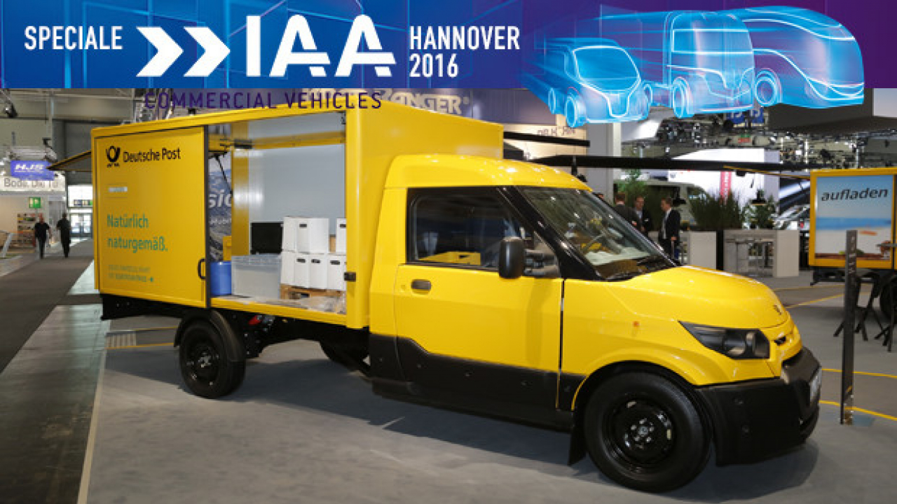 IAA Hannover 2016, il nuovo StreetScooter