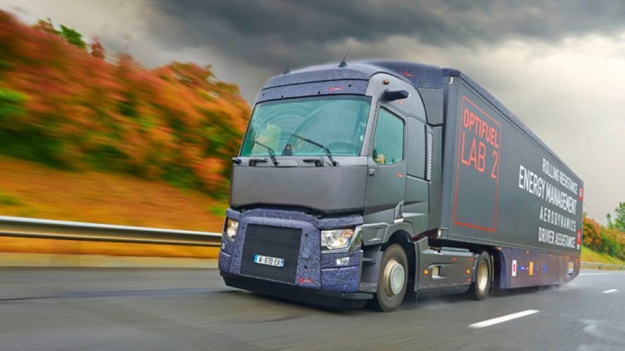 Renault Trucks con Optifuel Lab 2 -22% di consumi