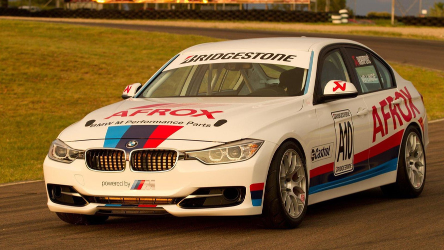 BMW 3 Series sedan race car debuts in South Africa