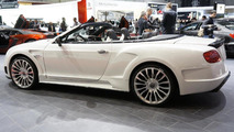 Bentley Continental GT redesign by Mansory live in Geneva 13.03.2012