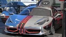 Chrome Ferrari 458 Chellenge