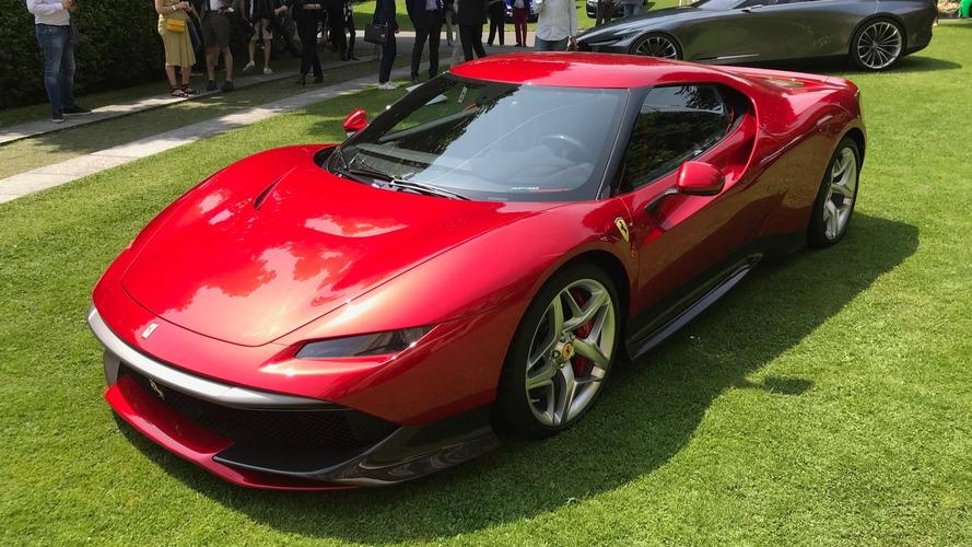 VIDÉO - La Ferrari SP38 prend la pose à la Villa d'Este