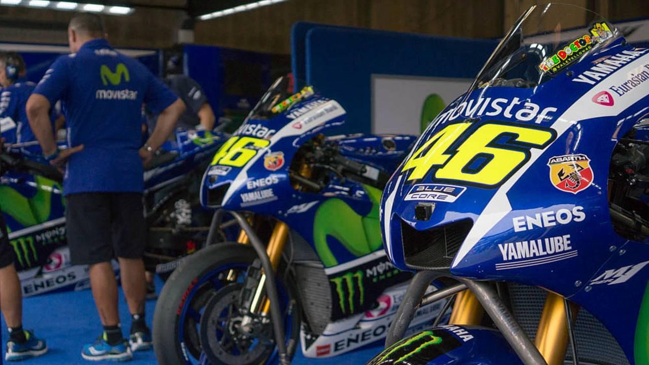 A Look Inside the Yamaha MotoGP Garage - 2015 MotoGP Indy