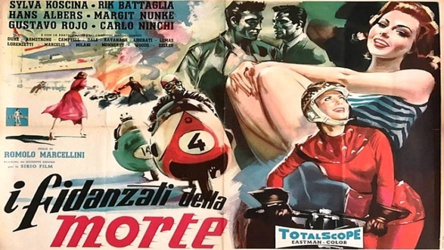 1957 Grand Prix Movie 'Engaged to Death' to be Restored