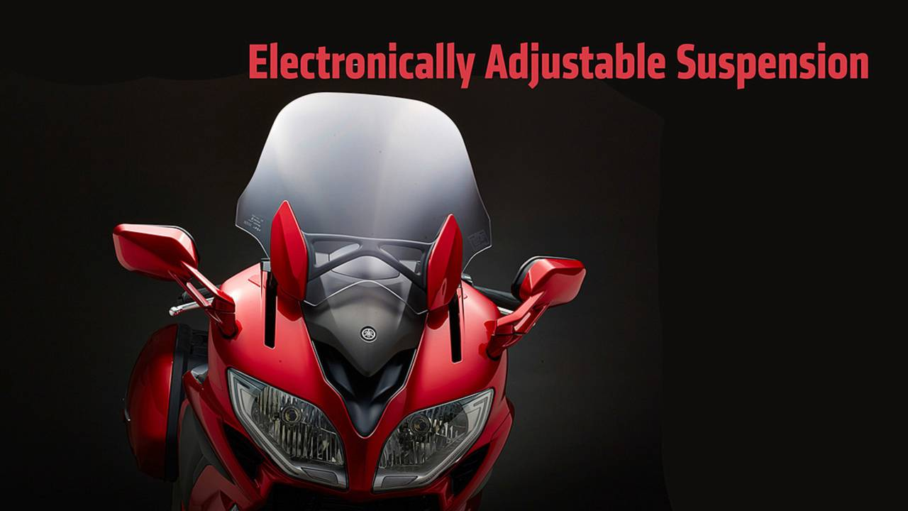 First Look: 2014 Yamaha FJR1300ES: Electronically Adjustable Suspension