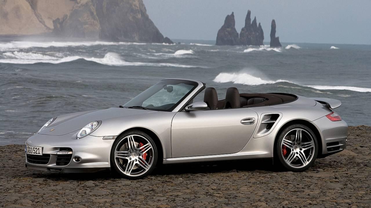 2. Porsche 911 Convertible – 4,523 miles