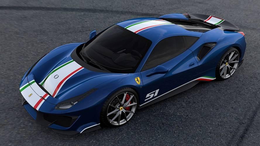 Piloti Ferrari Blu Tour De France