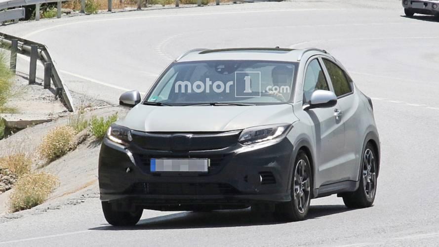 Honda HR-V, hafif makyajını gizlerken görüldü