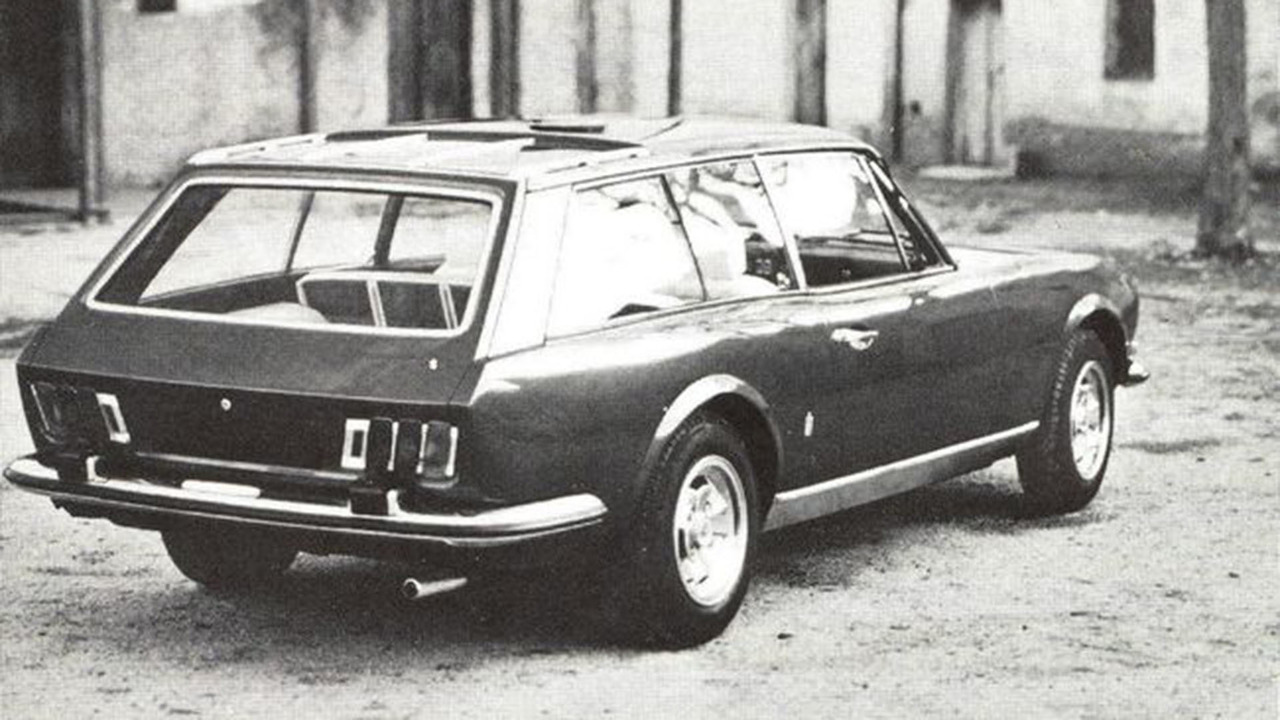Peugeot 504 Riviera, 1971