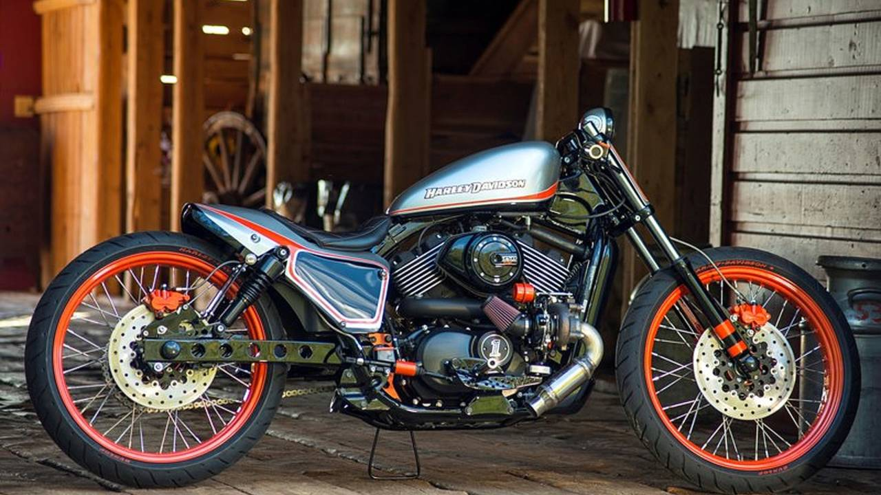 UPDATED - Harley-Davidson Crowns First U.S. Custom King