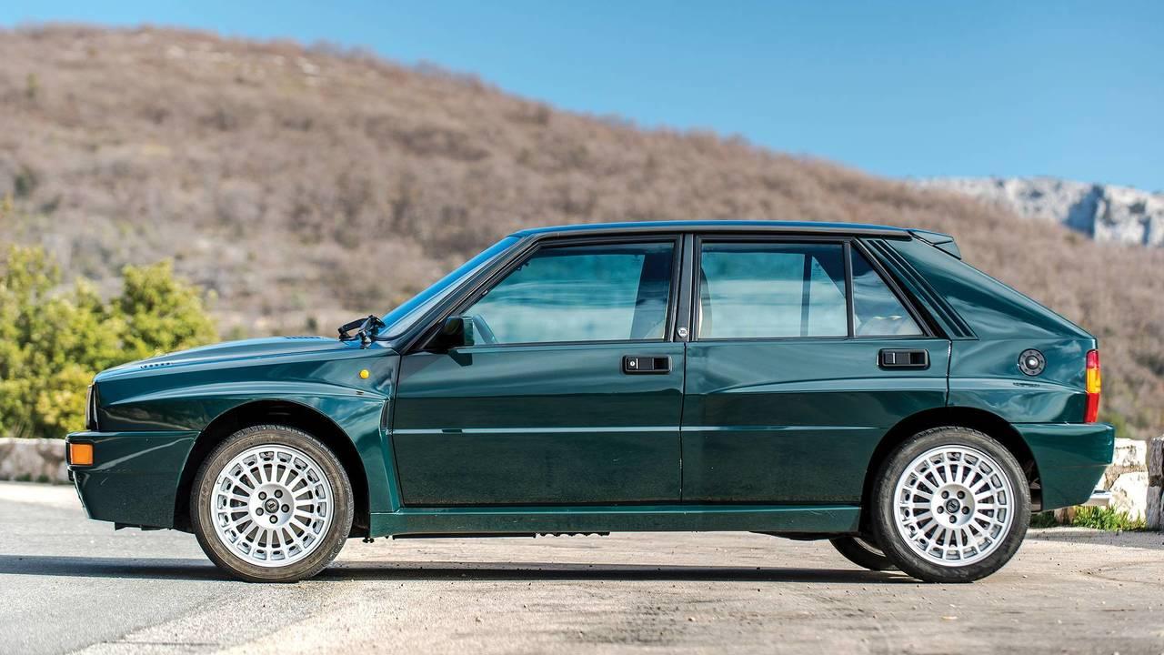 Lancia Delta HF Integrale Evoluzione Verde York