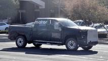 Chevrolet 2500 HD Crew Cab Spy Shots