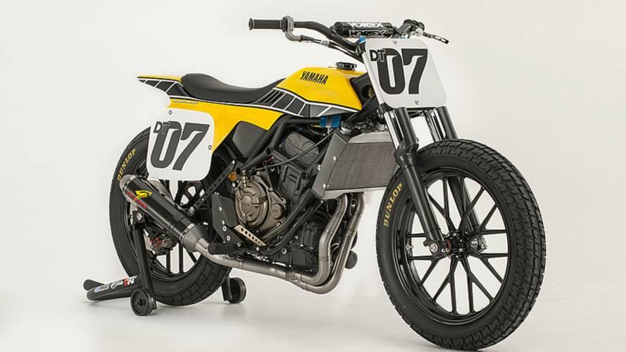 Yamaha Unveils an FZ-07 Flat Tracker Concept - DT-07