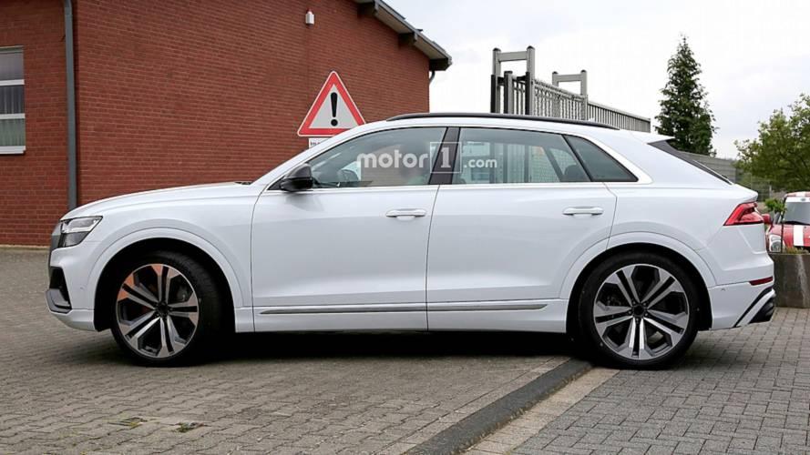 Audi SQ8 fotos espía al descubierto