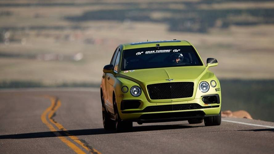 Le Bentley Bentayga décroche son record à Pikes Peak