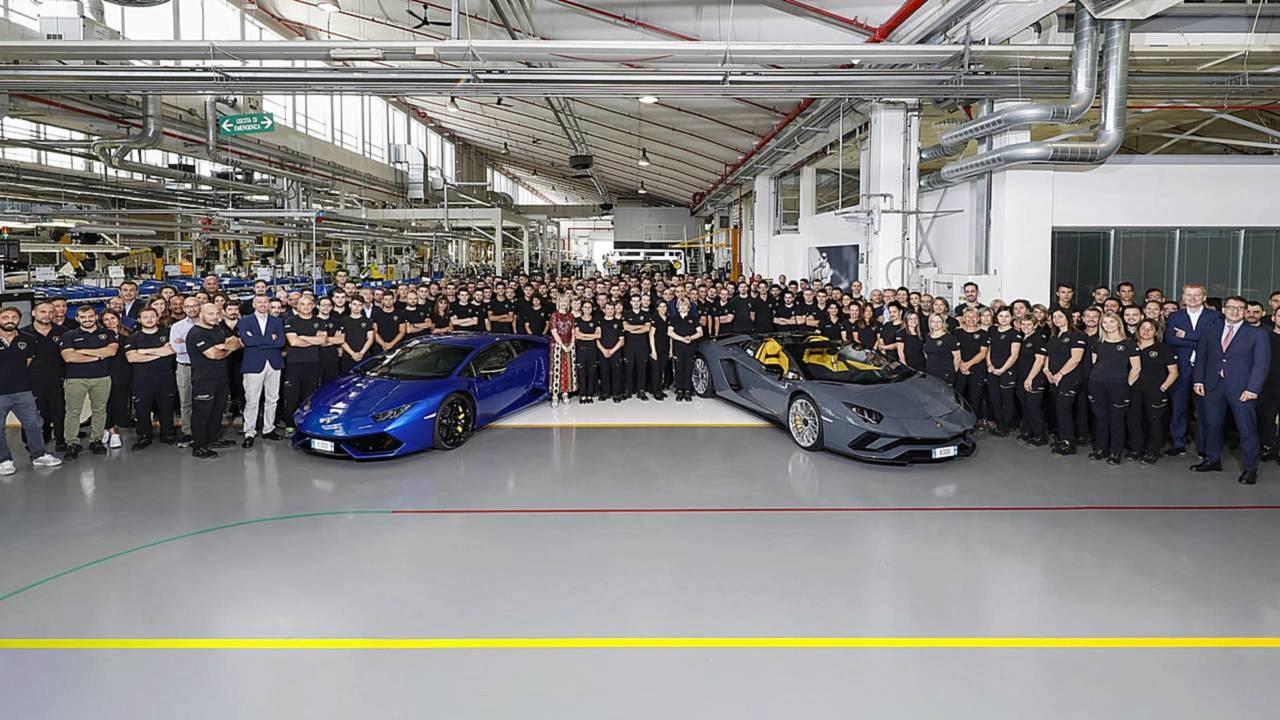 Lamborghini Huracán: 11.000 unidades