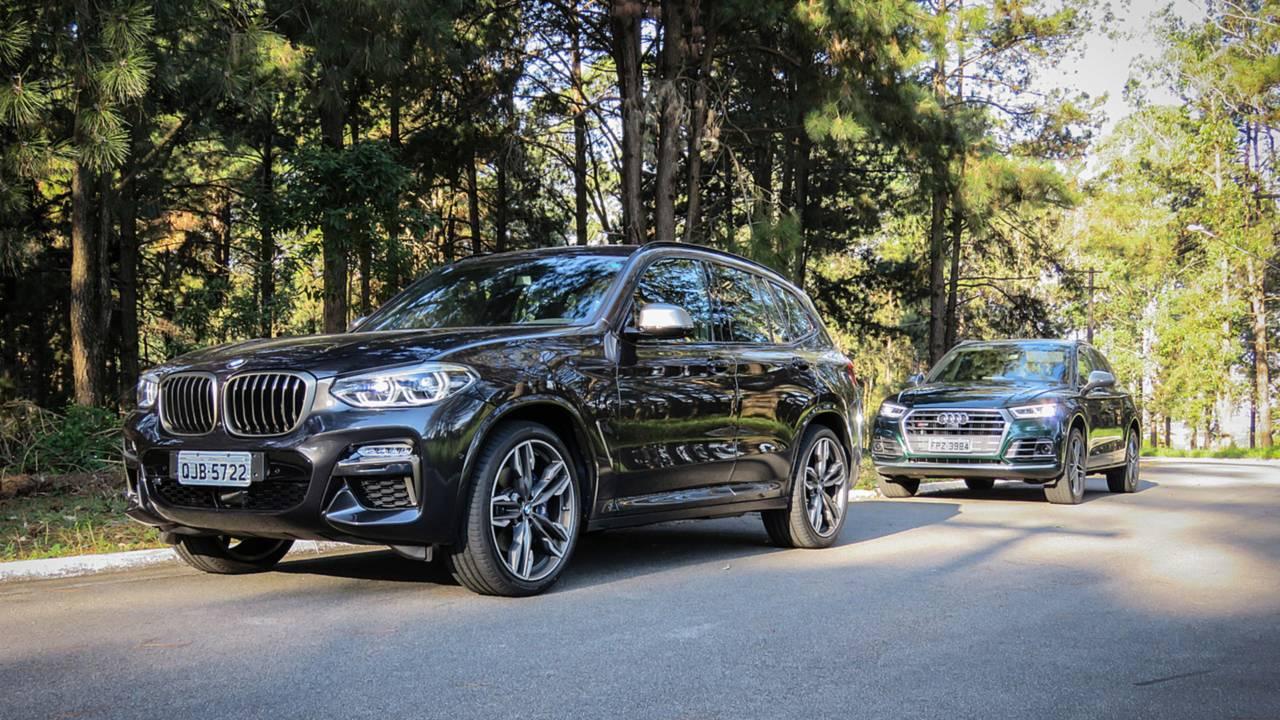 Comparativo BMW X3 x Audi SQ5