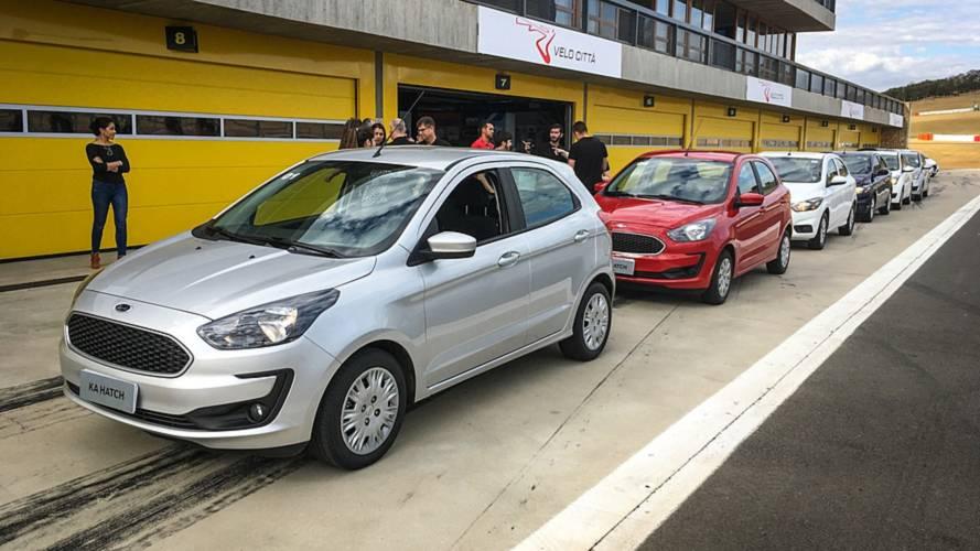 Ford Ka e Ka Sedan ficam mais caros e partem de R$ 45.990