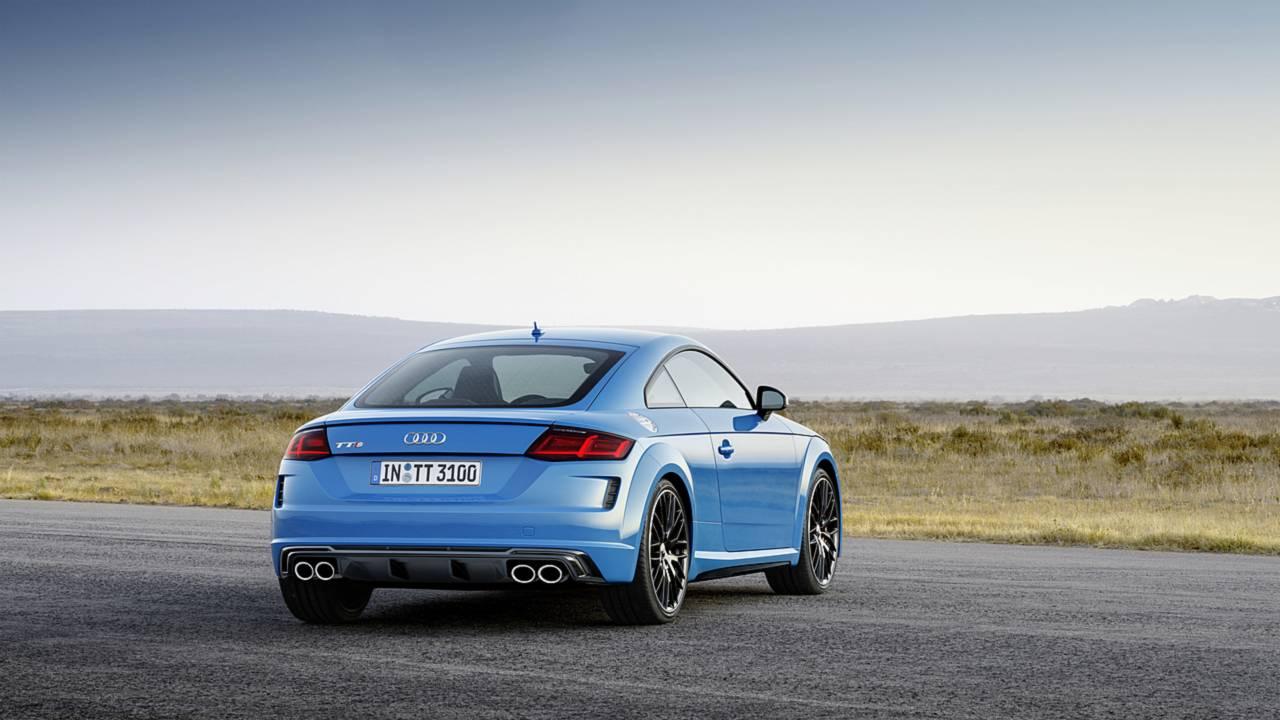 Audi TTS, Isola di Man
