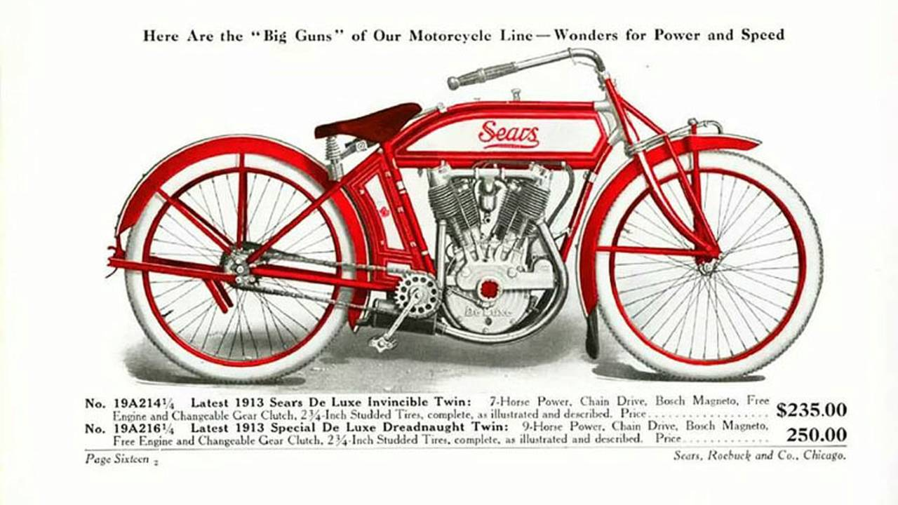 Cycleweird: Moto by Mail Part 1-Sears Motorcycles