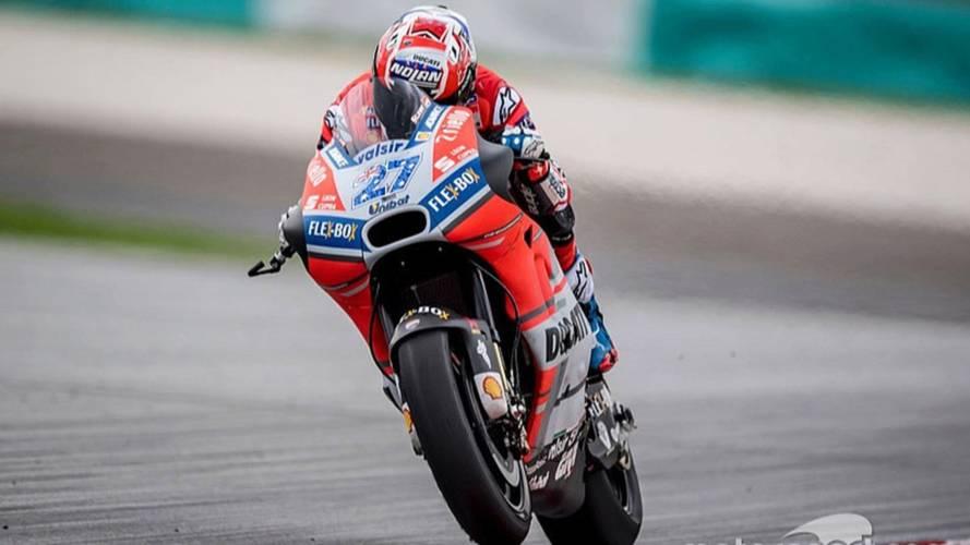 Casey Stoner Ducati Test Sepang