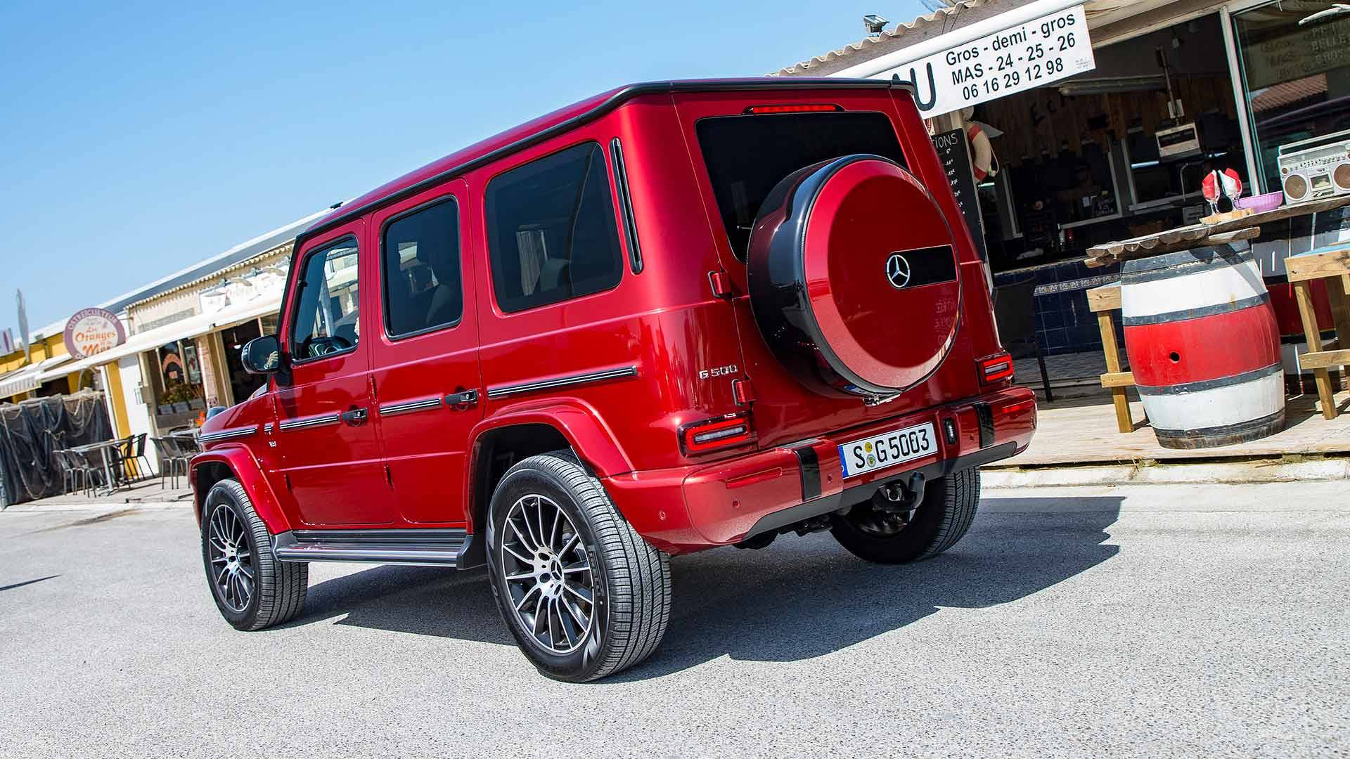 2019 Mercedes G550 Walkaround Shows Everything You'd Like To See