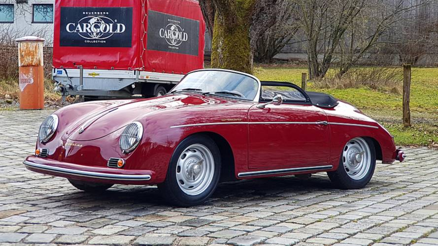 Unique 1956 Porsche 356 Speedster Polyantha Red Is A Retro Gem