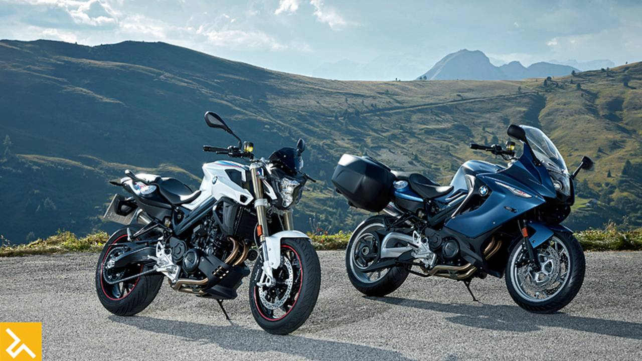 BMW Refreshes the F800 Series