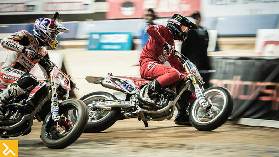 Superprestigio 2016 - Marquez vs Baker Rematch in Barcelona
