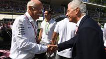 Dr. Dieter Zetsche, CEO of Daimler AG and Tronchetti Provera, Pirelli President