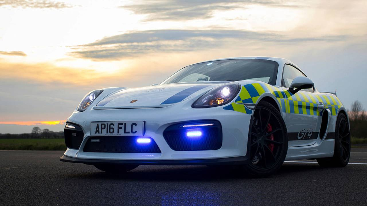 Norfolk Constabulary Porsche Cayman GT4