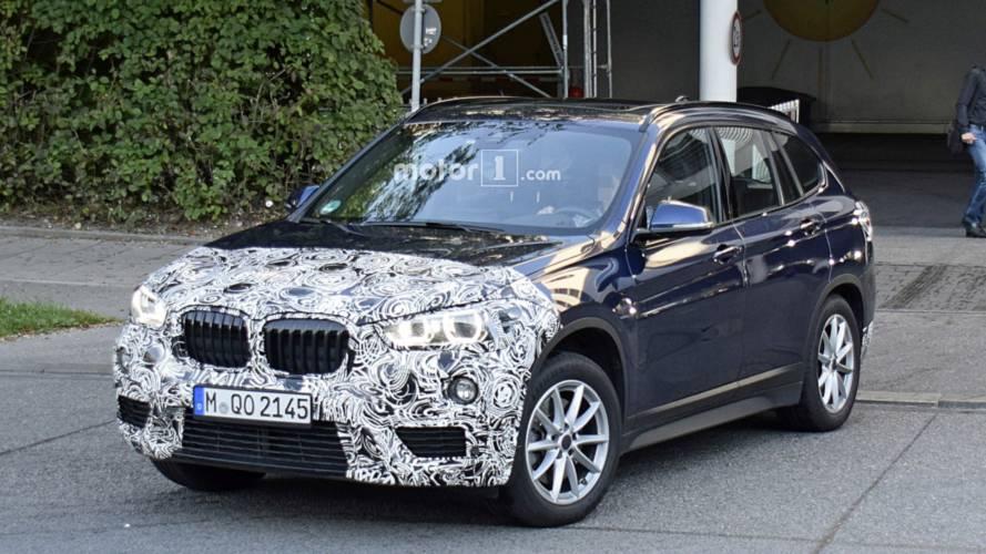 Makyajlı 2019 BMW X1 ilk kez casus kameralara yakalandı