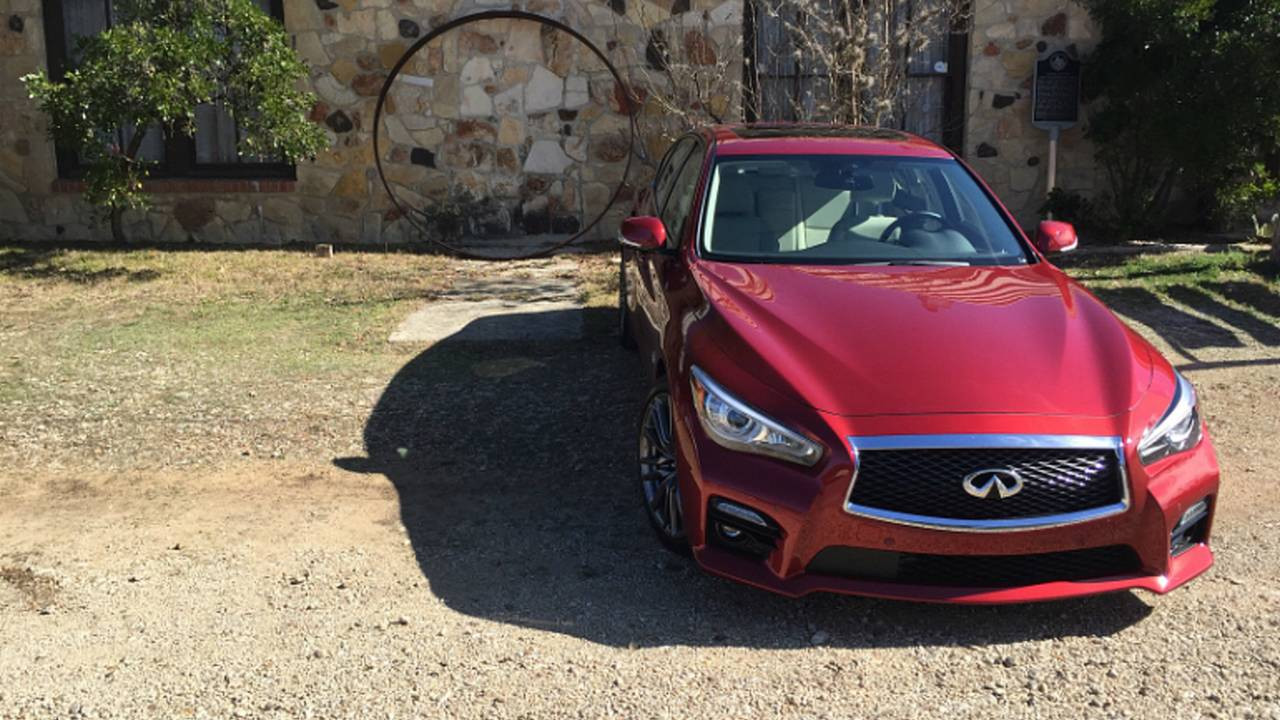 Infiniti Q50 Red Sport 400 — Review