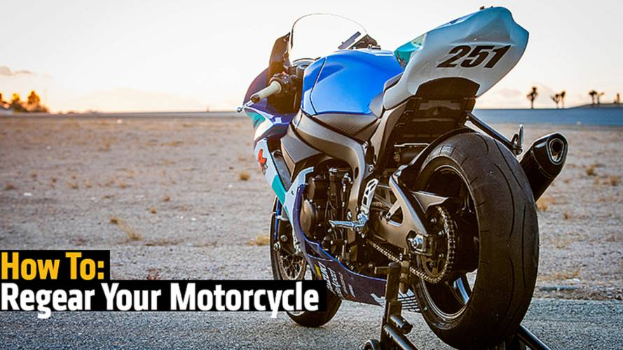 How To: Regear Your Motorcycle