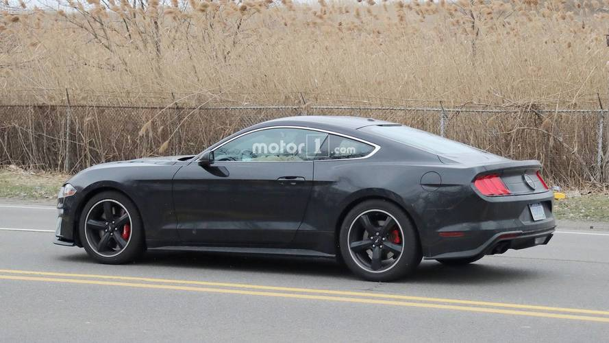 2019 Ford Mustang Bullitt Spied On The Street [UPDATE]